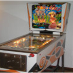 Tommy pinball machine Dig a Star