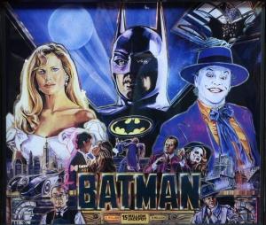 Data East Batman pinball machine for sale. Buy Batman pinball table.