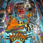 Pinball UK Bram Stokers Dracula pinball machine playfield