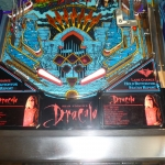 Pinball UK Bram Stokers Dracula pinball machine lower playfield