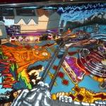 Pinball UK Bram Stokers Dracula pinball machine playfield