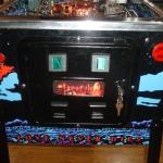 Pinball UK Bram Stokers Dracula pinball machine cabinet coindoor