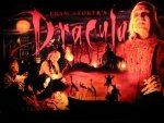 Bram Stoker's Dracula pinball translite