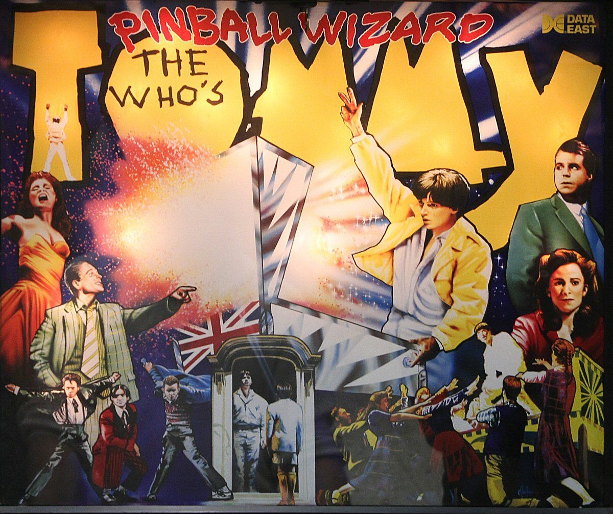 The Who's Tommy Pinball Wizard