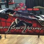 Black Spider-Man cabinet