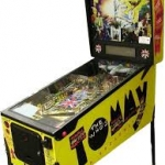 Tommy pinball cabinet