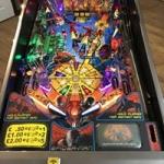 Black Spider-Man playfield